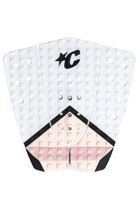 Creatures Steph Gilmore Traction Pad (White/Pink)