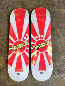 "The Folklore Project Muska Rising Son 8.25"" Deck + FREE GRIP"