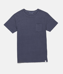 Rhythm Everyday Wash T-Shirt (Washed Blue)