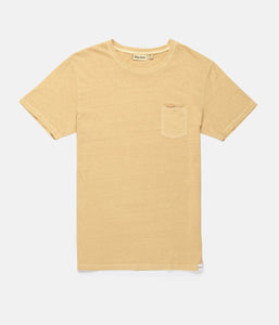 Rhythm Everyday Wash T-Shirt (Washed Peach)