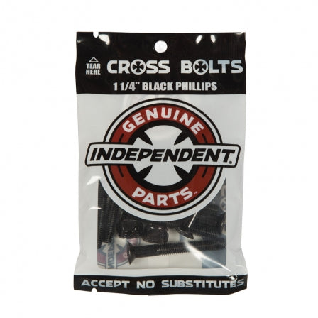 "Independent Cross Bolts 1.25"" Philips Skate Hardware"