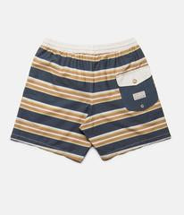 Rhythm Coastal Stripe Beach Short Sunset