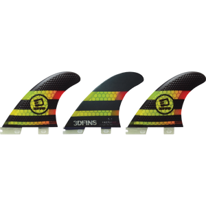 3D Fins Fastlight 5.5 FCS II Thruster Set