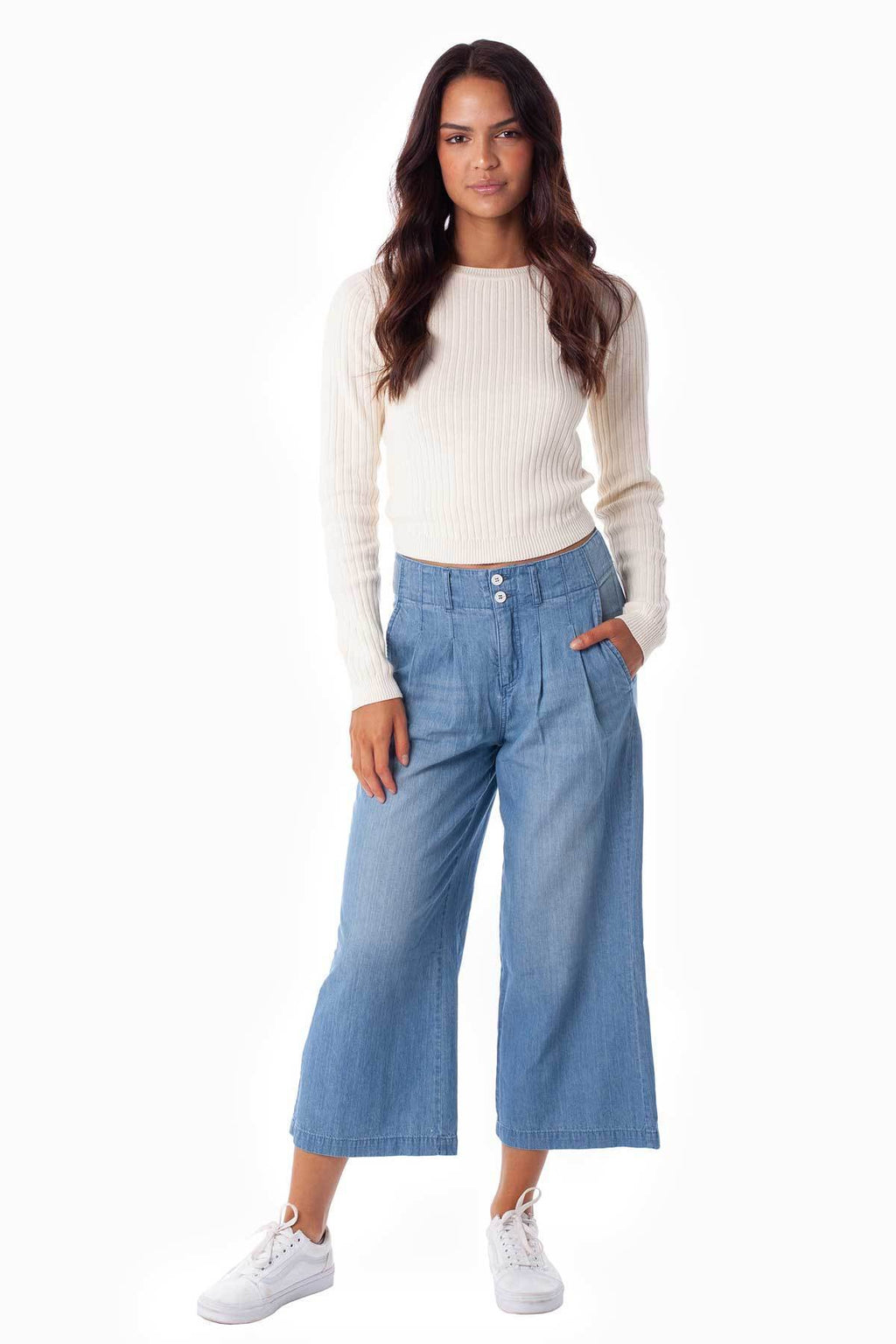 Rhythm Madison Pant Chambray