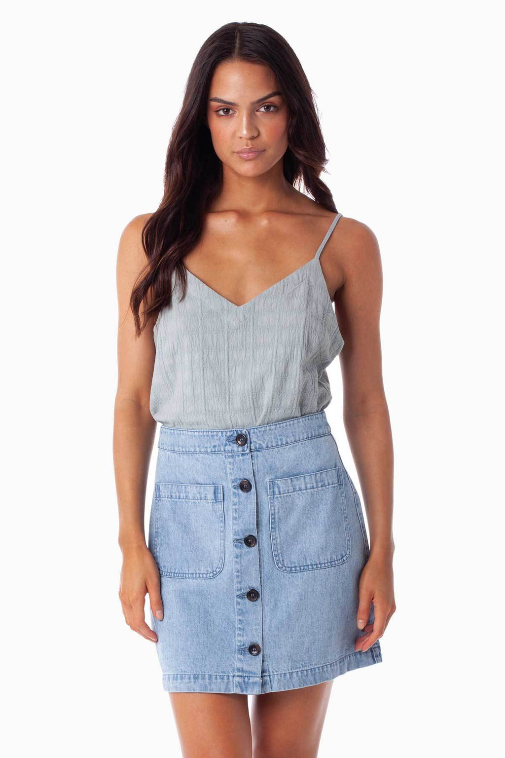 Rhythm Mayfair Skirt Denim