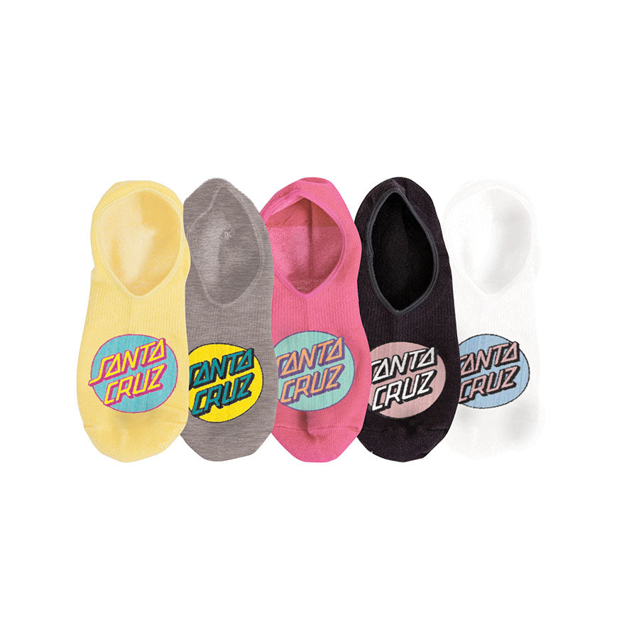 Santa Cruz Pop Women's No Show Socks (Assorted)