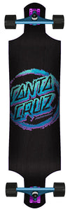 "Santa Cruz Throwdown 10"" x 40"" Drop-Down Cruzer"