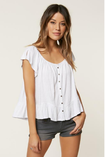 O'Neill Farrah Solid Top White