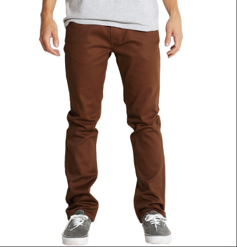 Matix MJ Gripper Slim Straight Twill Denim Pant Cocoa