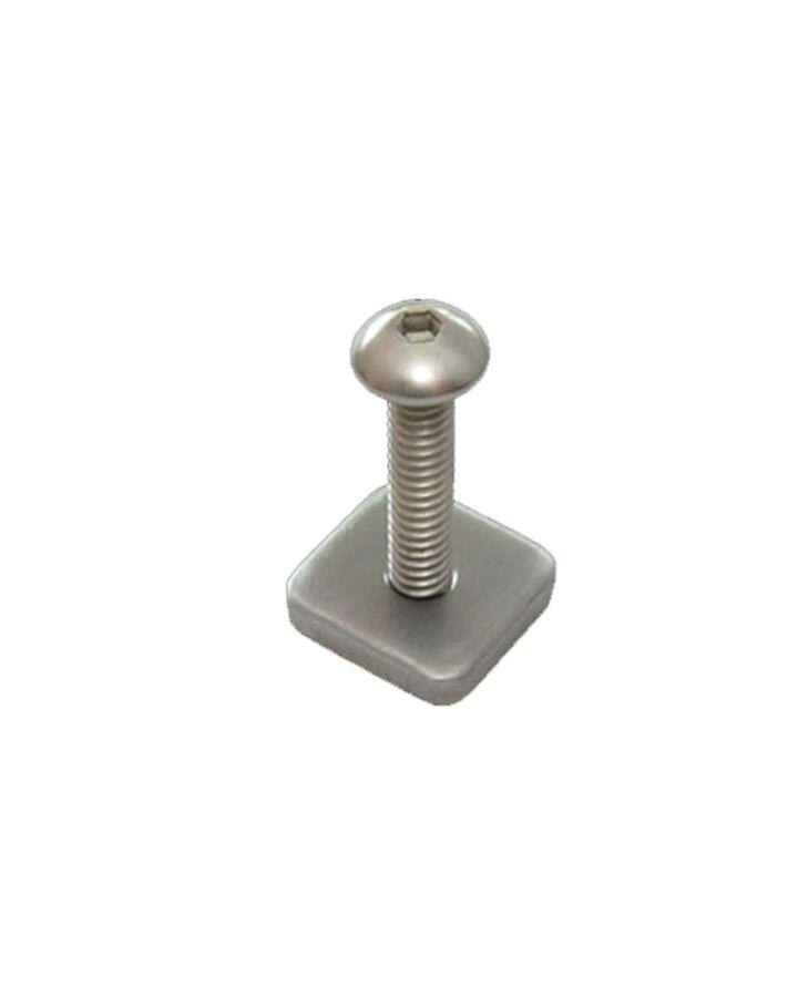 FCS Longboard Stainless Fin Screw and Plate