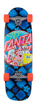 "Santa Cruz Spongebob Spongegroup 8.79"" x 29.05"" Cruzer"