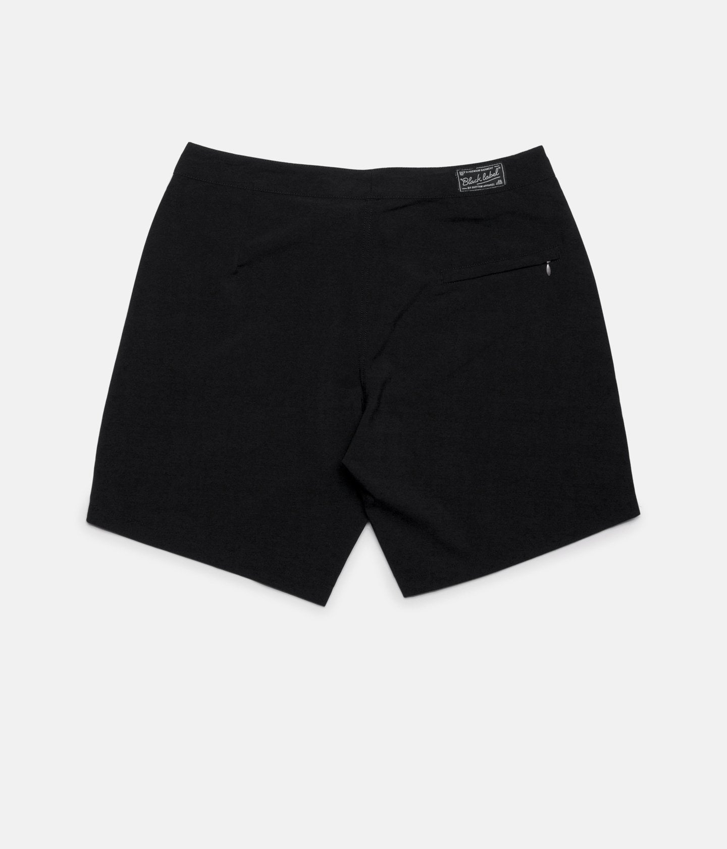 Rhythm Black Label Beach Trunk (Black)