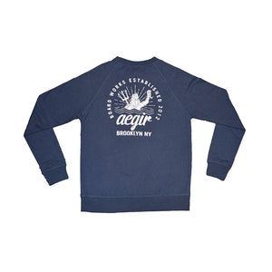 Aegir French Terry Raglan Crew Sweatshirt