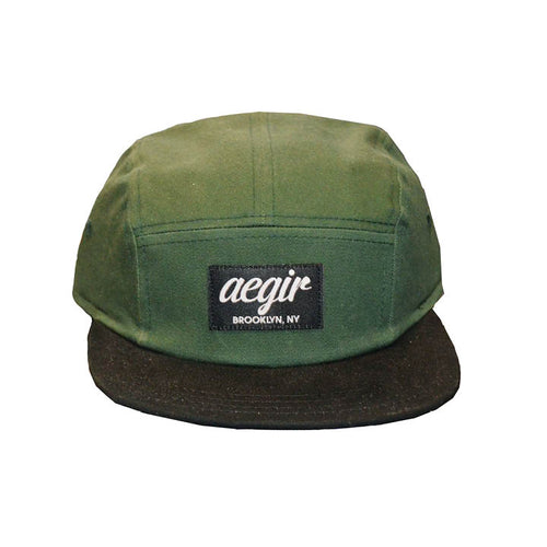 Aegir 5 Panel Cap Green/Black