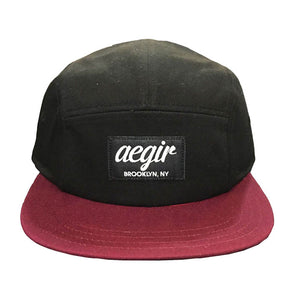 Aegir 5 Panel Map Cap Black/Red
