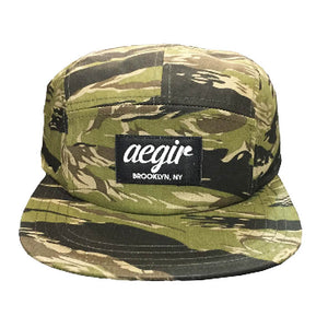 Aegir 5 Panel Runners Cap Camo