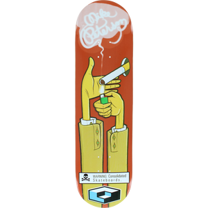 "Consolidated Skateboards Mike Peterson Cigarette 8.3"" Deck"