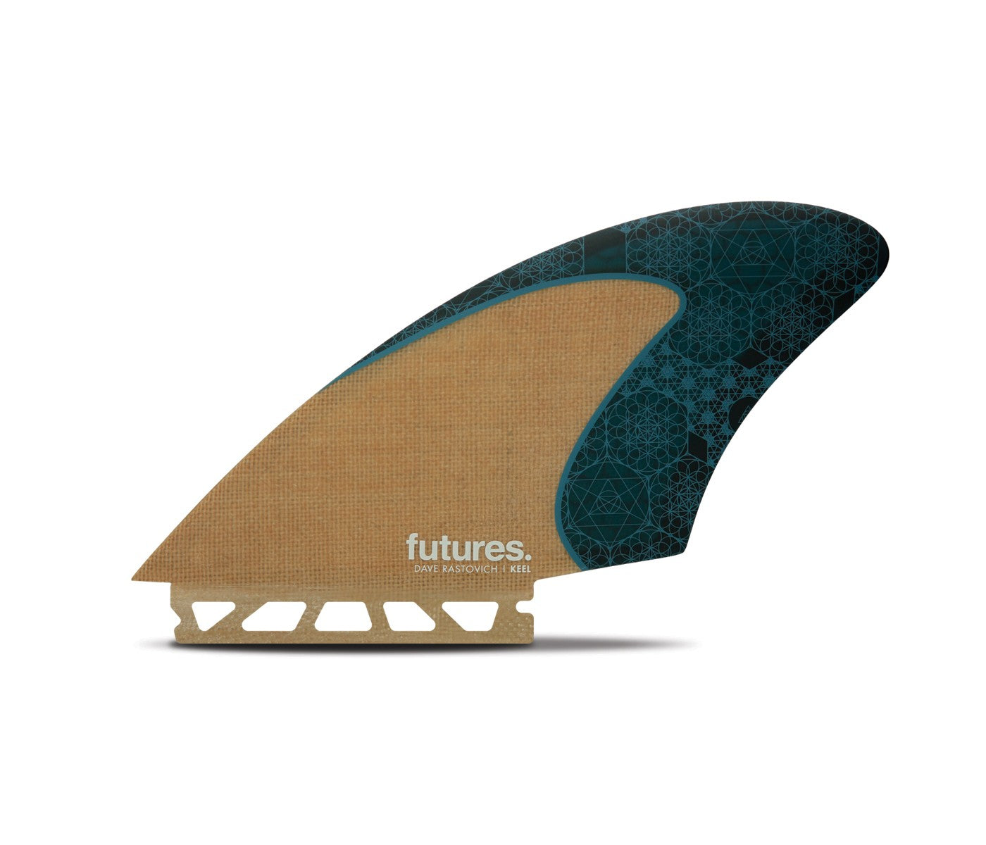 Futures Rasta Honeycomb Twin fins