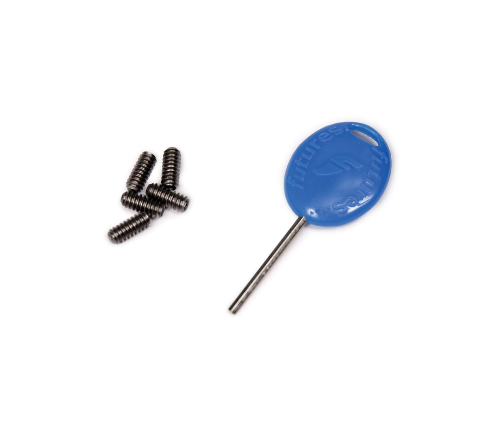 Futures Replacement Fin Screws and Key Kit