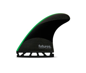 Futures John John JJ-2 Techflex Medium Thruster Set