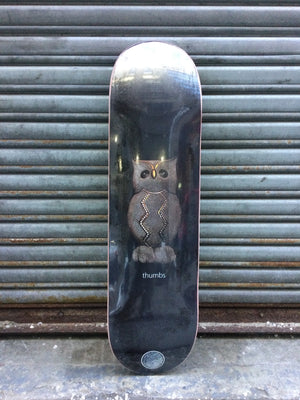 "Thumbs Owl 8.5"" Deck"