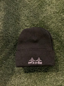 Bridge Embroidery Beanie (Art by Casey Jones)