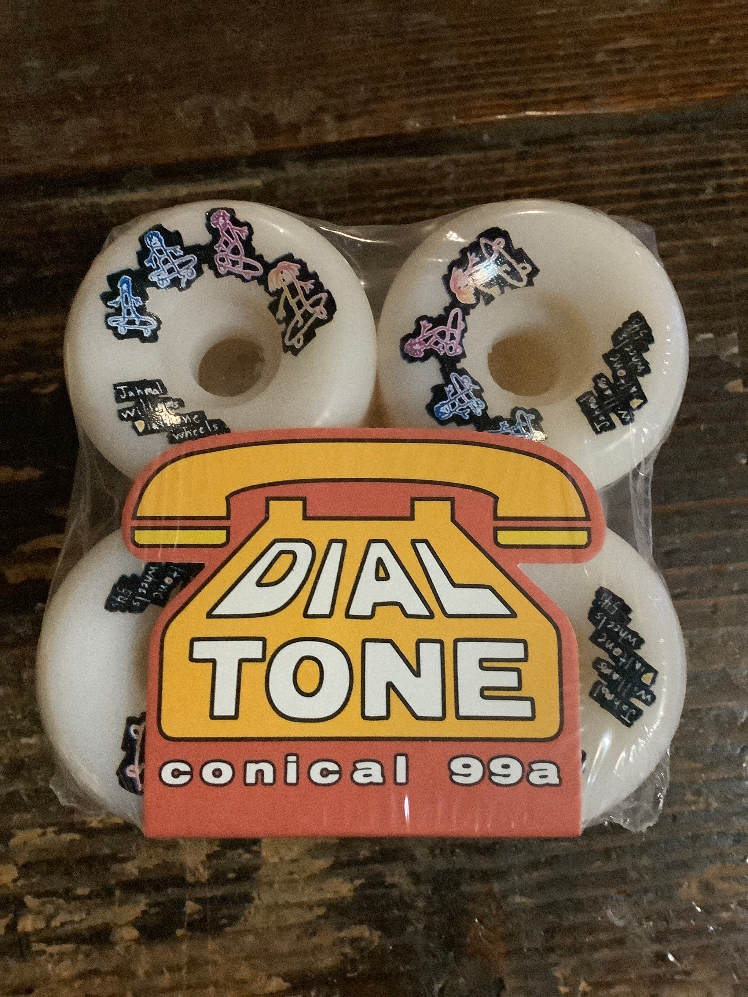 Dial Tone Wheel Co. Williams Doodles Conical Cut Wheels