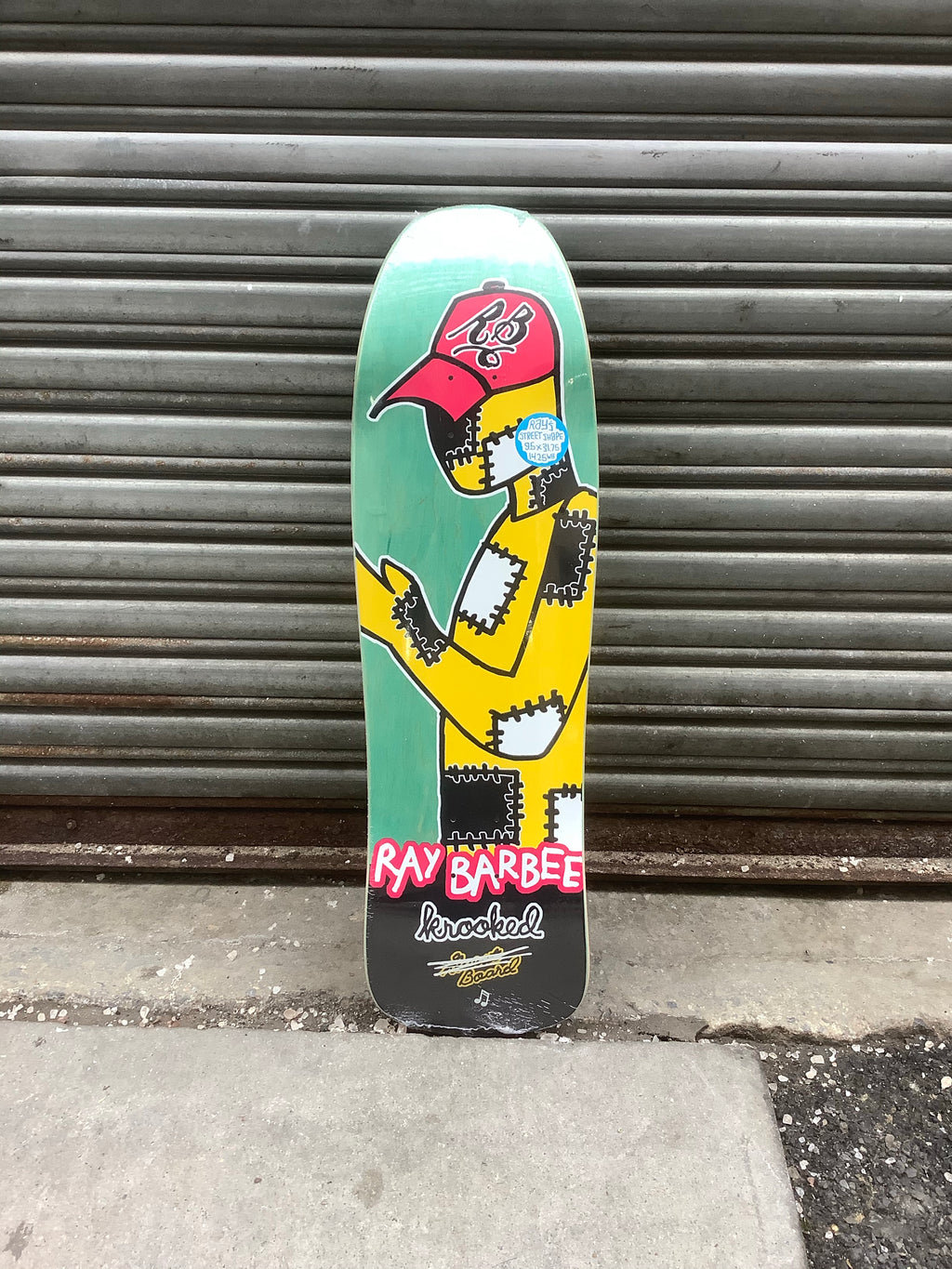 "Krooked Ray Barbee Redux 9.5"" Deck"