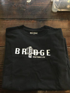 Bridge S/S T-Shirt (Black and White Logos)