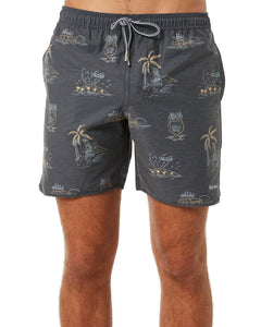 Rhythm Maui Beach Short (Vintage Black)