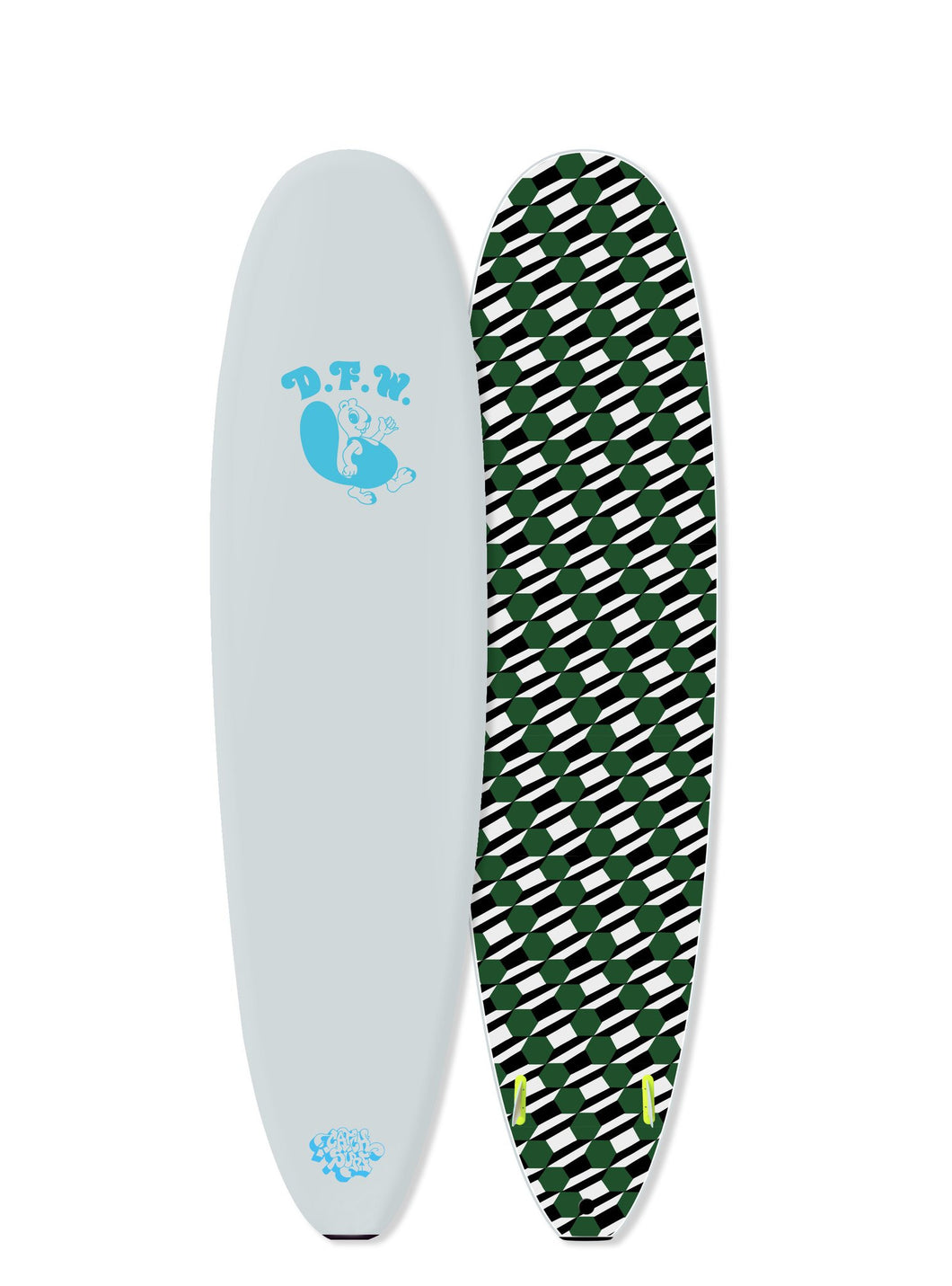 7' Odysea DFW Edition Barry McGee Log Twin Fin