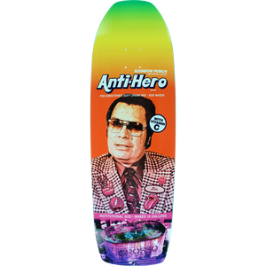 "Anti Hero Grosso Pre Sweetened Rainbow Punch 10.1"" Deck"