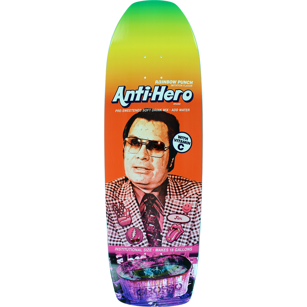 Anti Hero Grosso Pre Sweetened Rainbow Punch 10.1