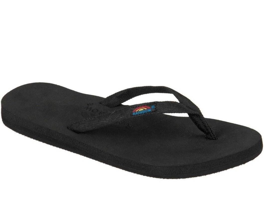 Rainbow 301ASTNS Women's Low Cloud Black Sandal