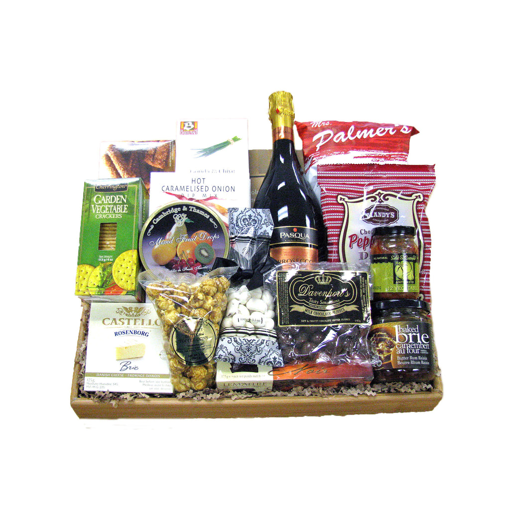 Corporate Congrats Gift Basket