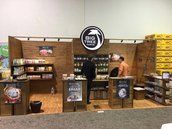 Big Tree Farms booth at Expo West