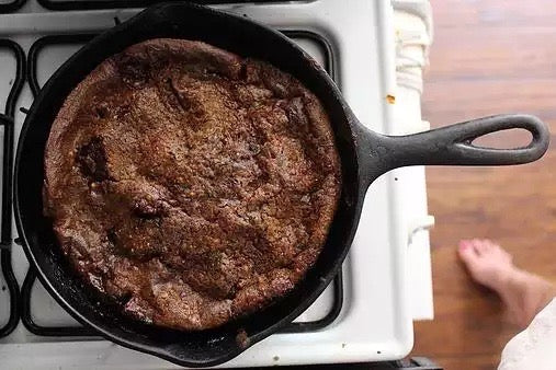 Chocolate Peach Dutch Baby Recipe