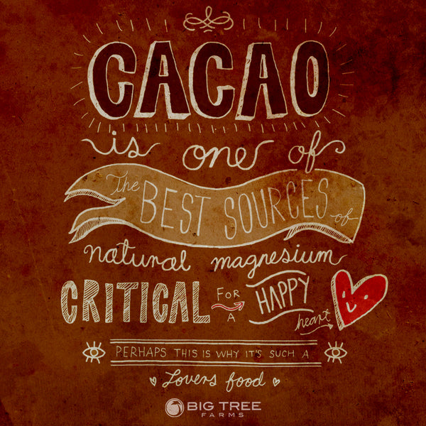 Cacao for a happy heart