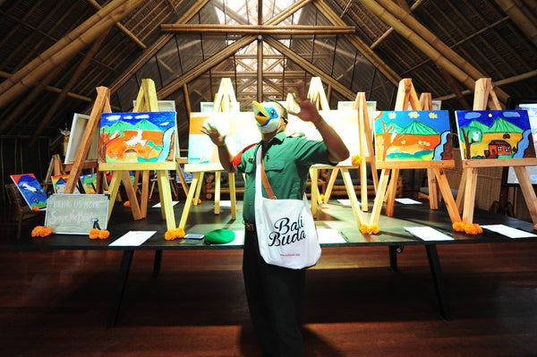 Bali Starling Night Auctioned Paintings