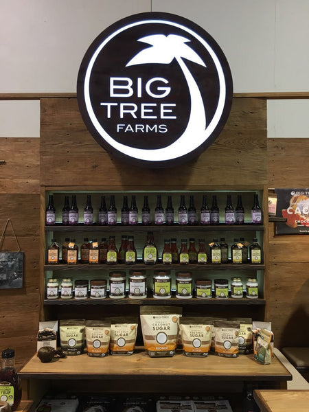Big Tree Farms display