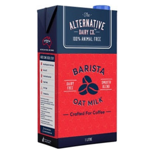 "Milk -  Oat Milk ""Barista Quality"" - by The Alternative Dairy Co. 1 lt"
