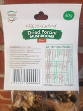 Load image into Gallery viewer, Mushroom - Porcini Dried (40gm) Packet