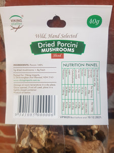Mushroom - Porcini Dried (40gm) Packet