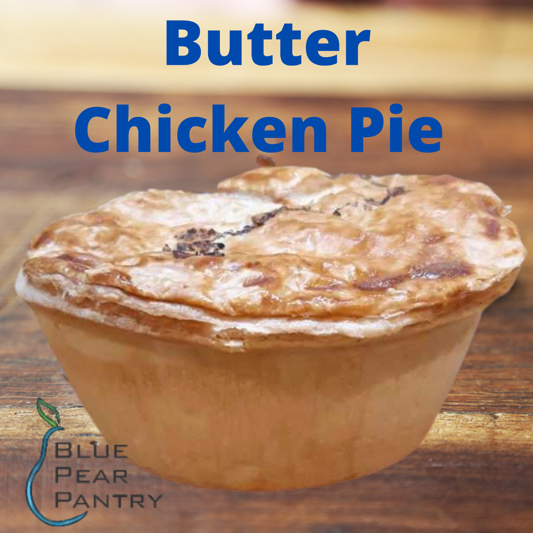 butter chicken pie 200g  - Blue Pear Pantry