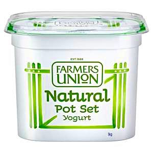 Yogurt Natural Pot Set 1kg
