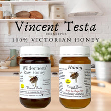 "Load image into Gallery viewer, Honey - 100% ""ABSOLUTELY NATURAL"" Honey harvested from Melbourne East   - by Vincent Testa Beekeeper"