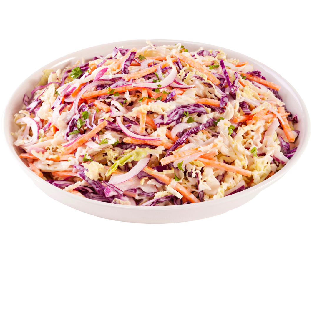 Coleslaw - MADE FRESH IN HOUSE (Red Cabbage, Green Cabbage & Carrot)