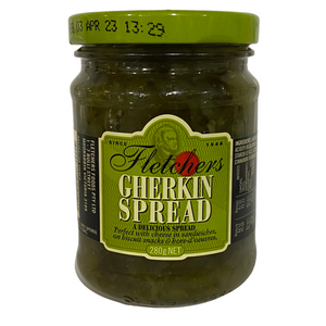 Gherkins Spread by Fletchers Foods Victoria - 280g