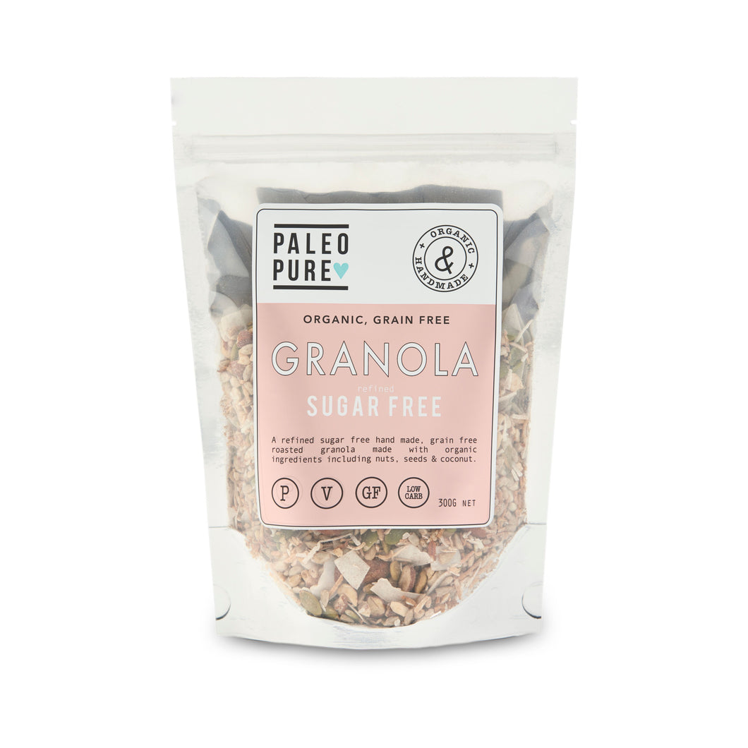 Cereal - Granola Grain Free Sugar by PALEO PURE 💙