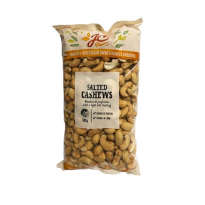 Nuts - Cashews Roasted & Lightly Salted 500g